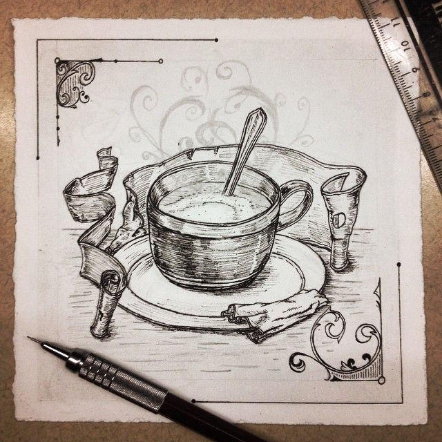 Revive Hand Drawn Iconography Series Coffee