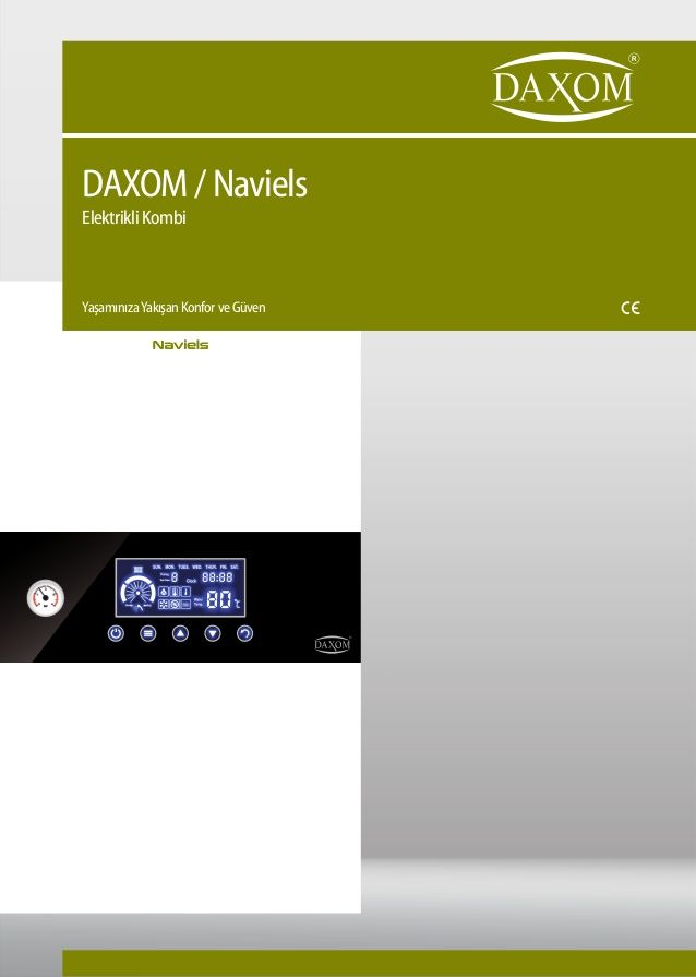 DAXOM / Naviels Elektrikli Kombi YaşamınızaYakışan Konfor ve Güven Naviels