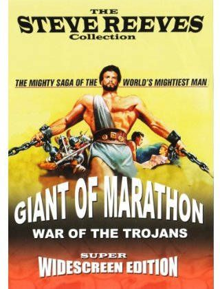 Steve Reeves Double Feature: The Giant of Marathon & War of the Trojans