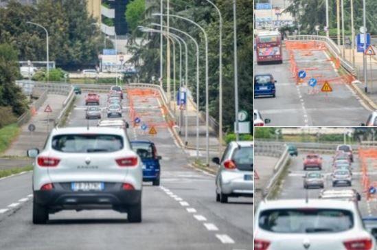 Ponte Laghetto Eur da mercoledì transito vietato