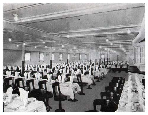 Ss Union Castle Dining Room