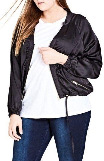 City Chic Plus Size Women's 'Jungle Heat' Jacket