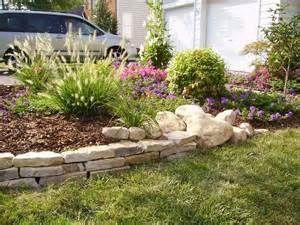 Lawn Edging Stone Garden Plants Ideas, Stone Garden Edging Ideas .