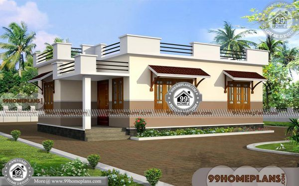 Floor Plans For One Level Homes Simple Small Traditional Collections Beautiful House Plans House Plans With Pictures House Plans With Photos House designs indian style interior