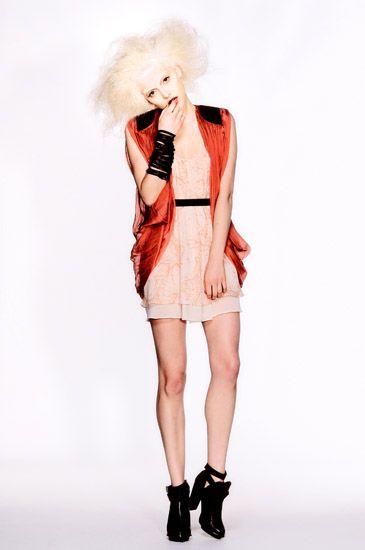 White Background Studio Fashion Photography, Uscari SS13 Red and Black Jacket