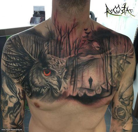 Chrischi84: Owl   Tattoos von Tattoo-Bewertung.de