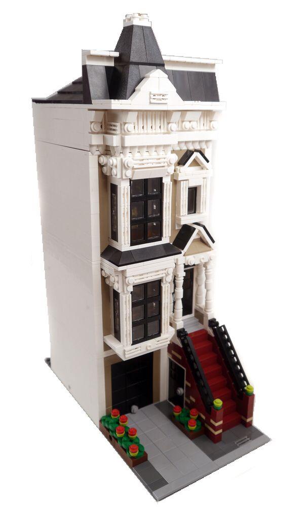 San Francisco Stick Style House - 1 - Lego Modular Building
