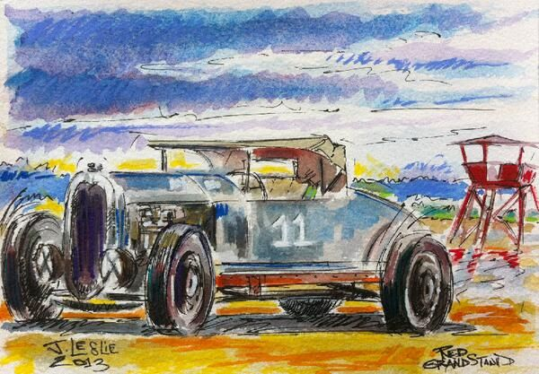 Jimmy Leslie ‏@JimmyResArt From 2013 @RaceOfGentlemen @Wildwoods_NJ #movemay Winsor and Newton watercolours What a great event for race fans! pic.twitter.com/pB9VqRV5Oe