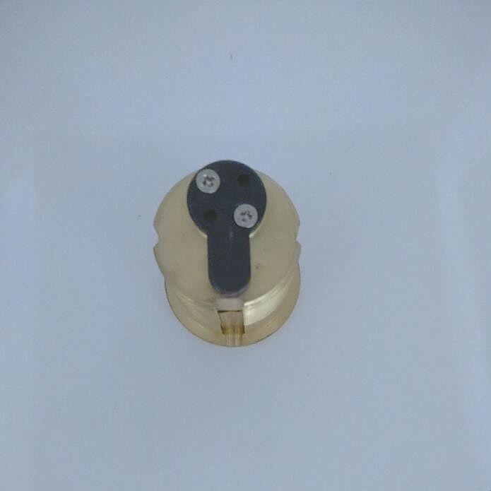 106.60$  Watch here - http://ali605.worldwells.pw/go.php?t=32610522394 - American Standard hotel cylinder threaded cylinder ab wholesale Fingerprint lock cylinder lock cylinder 106.60$