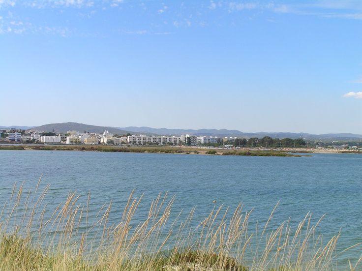 Bed and Breakfast Villa Laguna Algarve | Uitzich op Fuseta vanaf de Ria Formosa