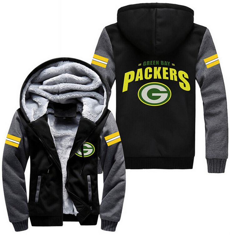 Find More Hoodies & Sweatshirts Information about Free Shipping USA size Men Women Football Green Bay Packers Zipper Jacket Thicken Sweatshirts Hoodie Coat Clothing Casual ,High Quality clothing,China jacket sailing Suppliers, Cheap jacket linen from X-S-L Store on Aliexpress.com