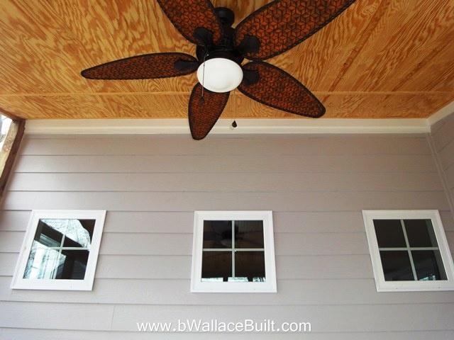 outside ceiling fan!