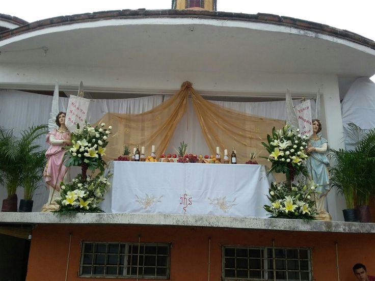 Monumento jueves santo parroquia santisima trinidad
