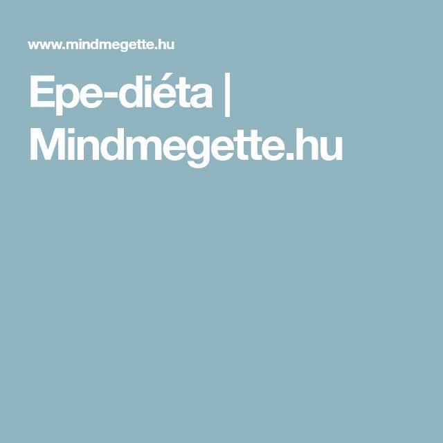 Epe-diéta | Mindmegette.hu