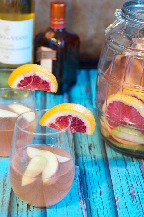 Winter Fruit White Wine Sangria