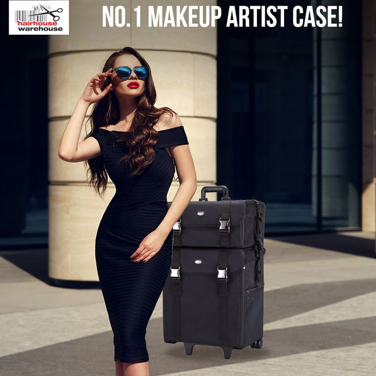 The best artists use only the best: The Beauty Pro MakeUp Artist Soft Trolley Case: https://www.hairhousewarehouse.co.za/beauty-pro-black-make-up-artist-soft-trolley-case?utm_source=Facebook&utm_medium=Social_CPC&utm_campaign=Product&utm_content=Make-Up-Trolley&%2520Case=#utm_sguid=157507,4d6e8f2f-825e-2579-1695-5413b2c2ae3c