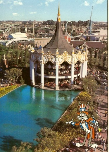 Great America, Santa Clara, California. This is the city I grew up in. I went to this amusement park many times.