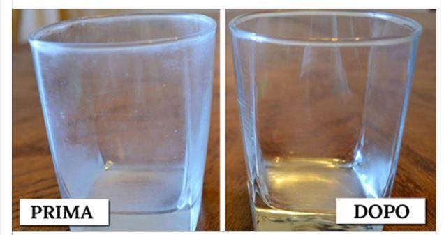 A chi di noi non è mai capitato che tirando fuori i bicchieri, dopo il lavaggio, trovarli talmente opachi da sembrare ancora sporchi? Neppure l'uso delbri