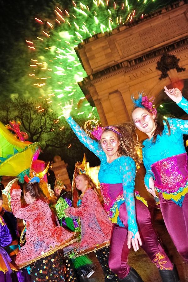 NYE Dublin Festival - the Festival of Light St. Stephens Green
