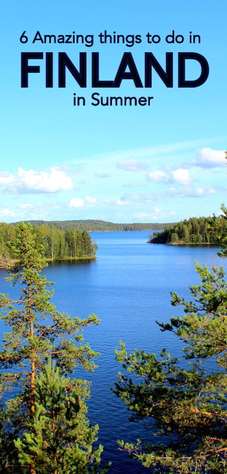 Finland is truly magical in summer. Read our guide to 6 amazing things to do in Finland here http://globalhelpswap.com/things-to-do-in-finland/