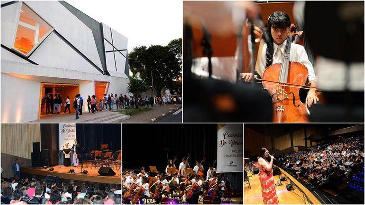 Concertos de Verão do Projeto Primeira Nota lotam o teatro Castro Mendes