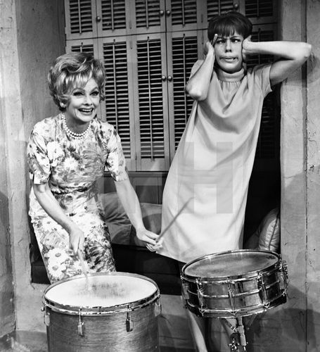 Lucille Ball and Carol Burnett