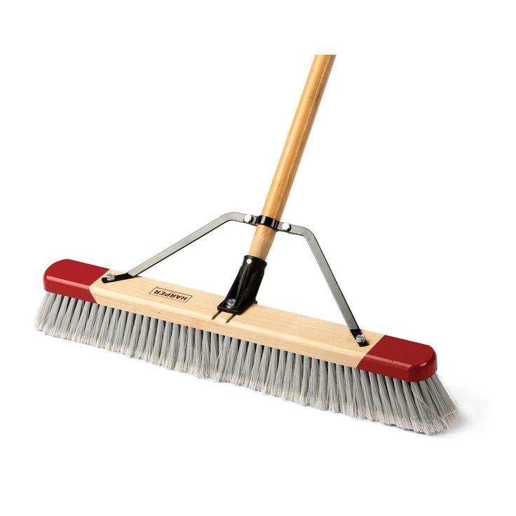 24 in. Flagged Push Broom