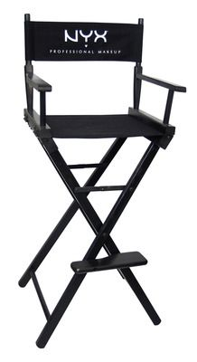 Wanna be a makeup artist? Invest in a director's chair!