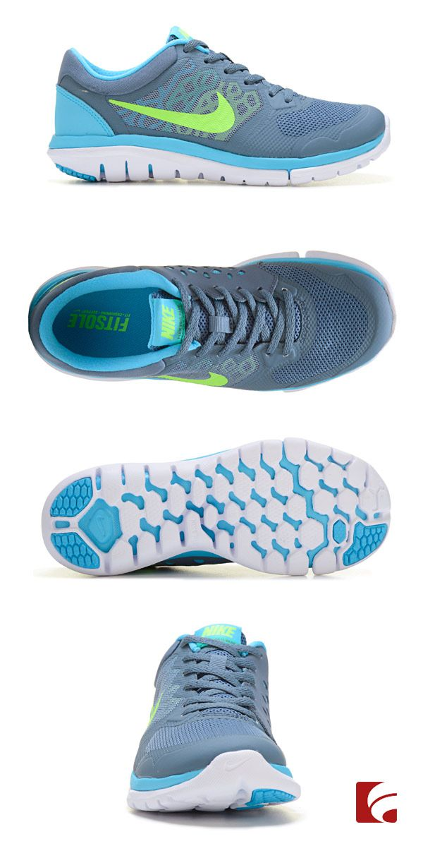 Running redefined. Nike's Fitsole technology gives you superior fit, cushioning and support while innovative Breathe Tech construction and full-length outsole flex grooves create optimal airflow and a natural ride. Oh yeah, and we think they're pretty cute too!