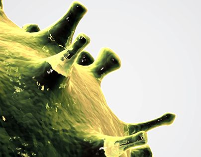 """Check out new work on my @Behance portfolio: """"Microbe"""" http://be.net/gallery/35503241/Microbe"""