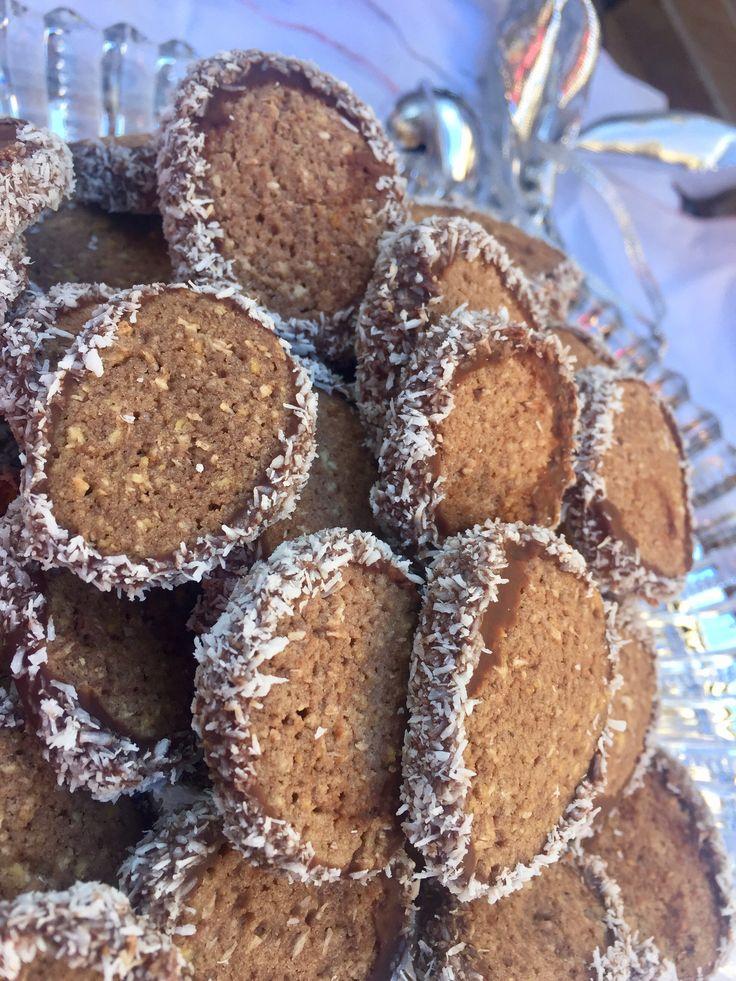 In der Weihnachtsbäckerei:  Kokos Cookies – Coconut Cookies