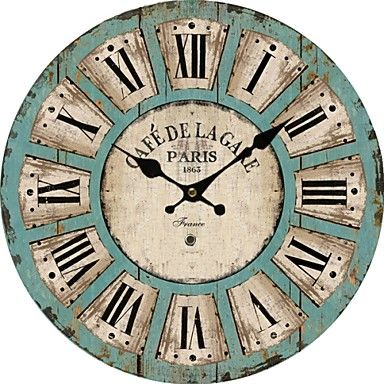 Retro Style Vintage Wall Clock – USD $ 29.99