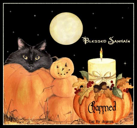 Pagan Spoonie: Wordless Wednesday: Blessed Samhain