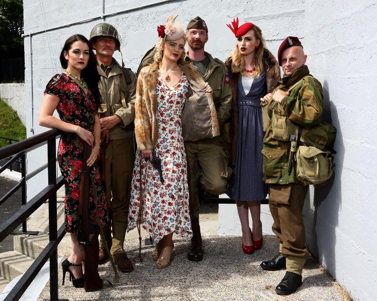 Recreating 1940's WW2 look