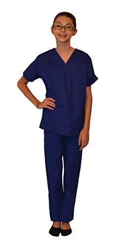 Royal Blue Kids Scrubs by My Little Doc (5/6) My Little Doc