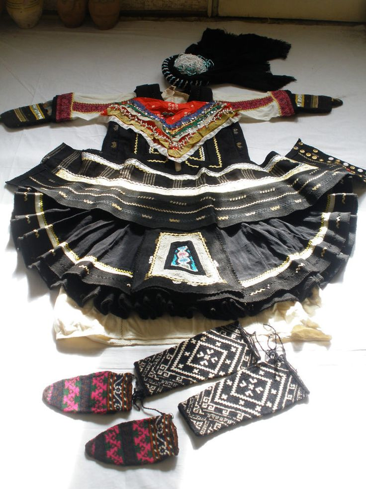Antique Sarakachani Greek Folk Wedding Costume on Ebay