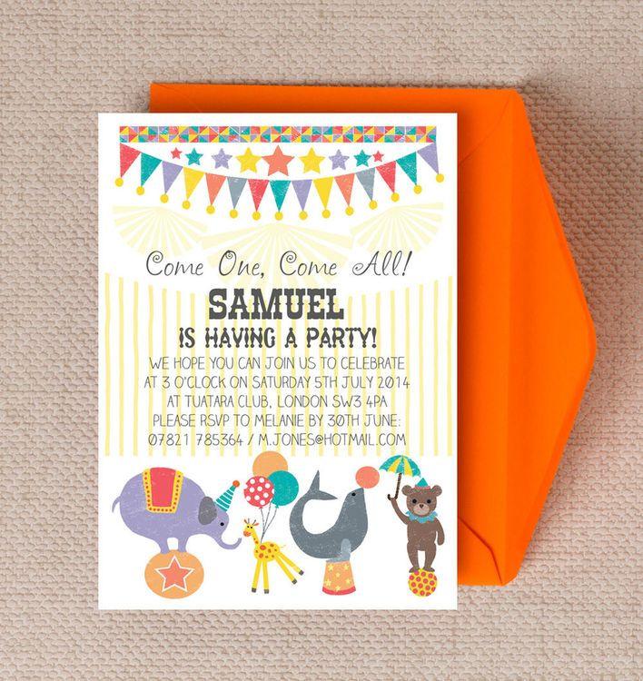 personalised kids party invitations | Invitationjpg.com