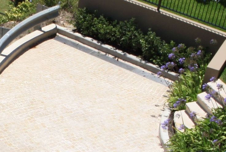 Desert Sand Cobblestones - Supplied by Sareen Stone. www.sareenstone.com.au Perfect for your outdoor areas. Easy to maintain, easy to install.
