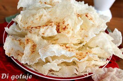 Di gotuje: Domowe prażynki z papieru ryżowego