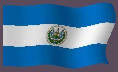 Banderas Animadas de El Salvador. Bandera Animada de El Salvador. Dibujo, Ilustraciones e imágenes de las enseña nacional. Representaciones del simbolo nacional. Representación del simbolo del país. Enseña, Blasón o Emblema. Ilustración, dibujos o imagen gif animados de Banderas de El Salvador. Himno nacional de El Salvador y Bandera Nacional