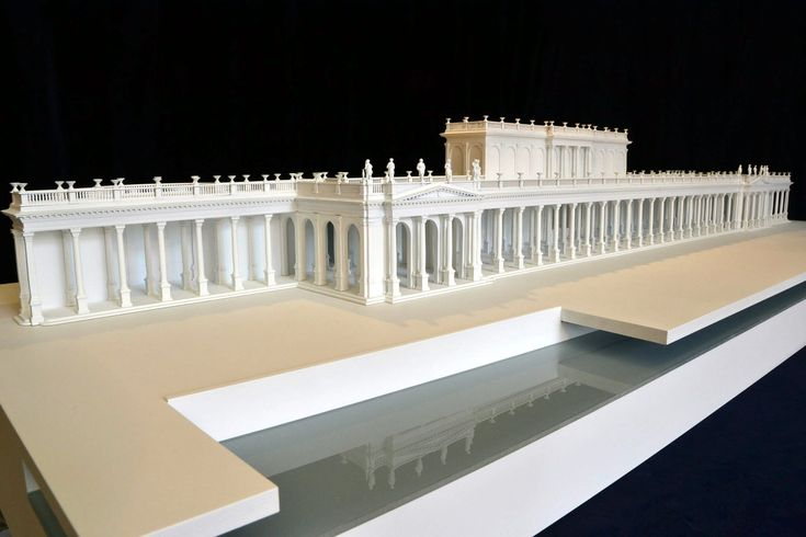 4 modely kolonád pro Muzeum Karlovy Vary - Aktuality a zajímavosti - Architektonické a technologické modely a makety, signmaking