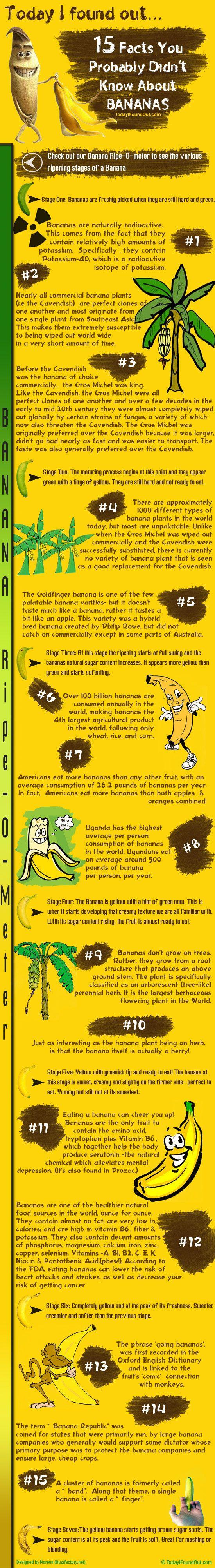 "Banana Infographic    http://www.amazon.com/gp/product/0452290082/ref=as_li_ss_tl?ie=UTF8=1789=390957=0452290082=as2=gerar-20"""