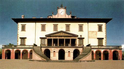 Giuliano da Sangallo (1445-1516) architecte – Villa de Poggio à Caiano (1487)