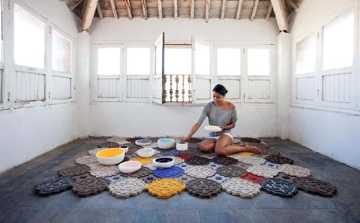 Gandia Blasco - Hidra Rug   #introdesign #design #rugs #carpets #textiles #gandiablasco