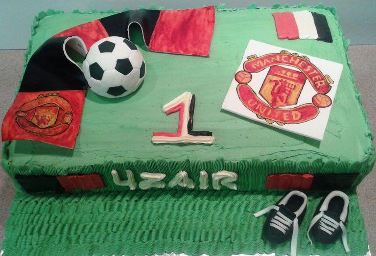 Soccer Theme Cake