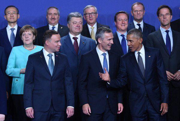 US-Präsident Barack Obama beim Nato-Gipfel in Warschau am Freitag. (Foto: dpa)