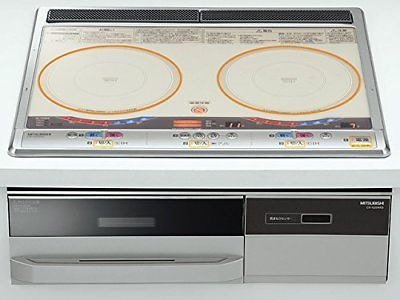"Mitsubishi [single-phase 200V] built-in IH cooking heater ""G20K Series"" 6... P/O"