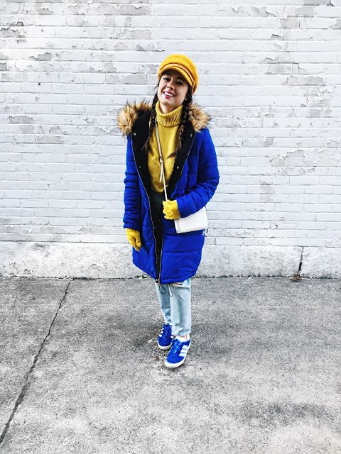 MARSHALLS BLUE PARKA    THE 3 BEST TIPS I'VE LEARNED WITH GOAL SETTING