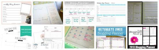12 settimane per organizzarsi: planner per il blog