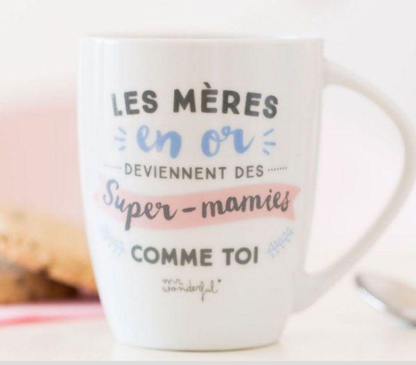 Un mug pour les meilleures mamans de mère en fille...